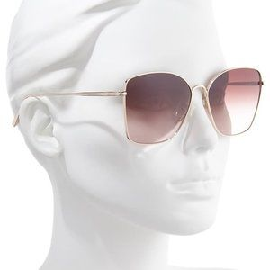 LONGCHAMP  Roseau 60mm Gradient Square Sunglasses